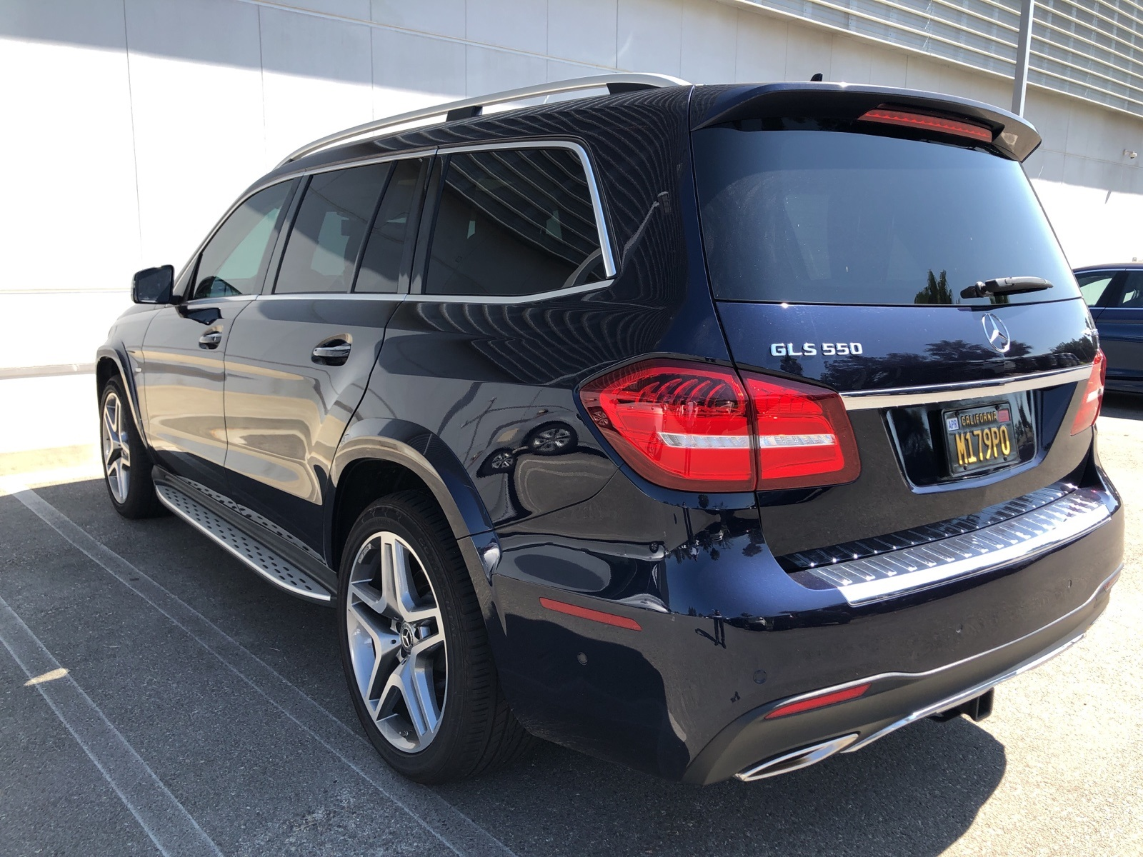 Certified Pre-Owned 2018 Mercedes-Benz GLS 550