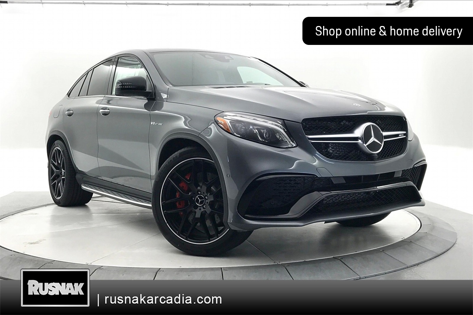 New 2019 Mercedes-Benz GLE 63 AMG®