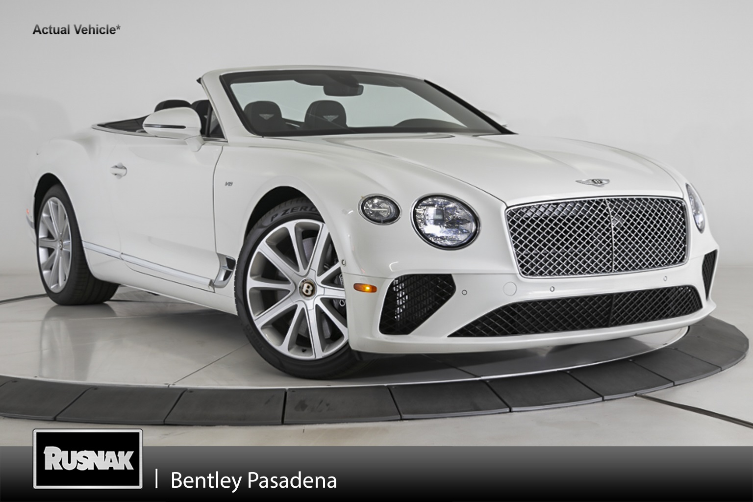 New 2020 Bentley Continental GTC V8 AWD 2D Convertible