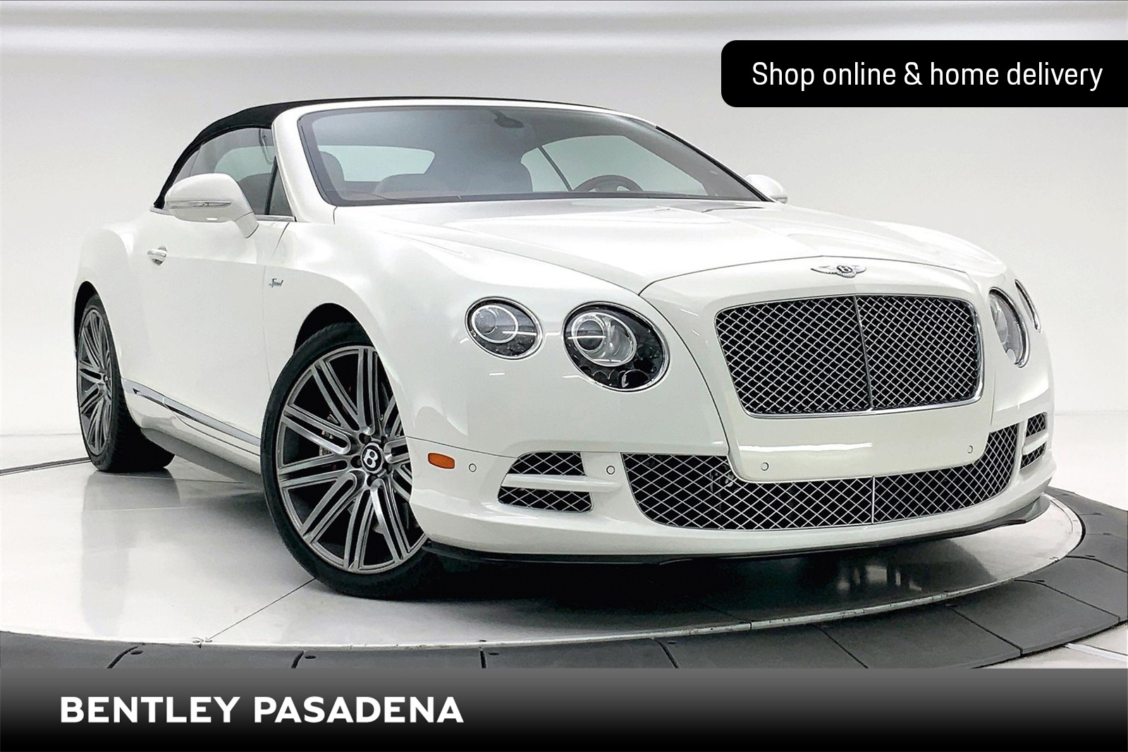 Certified Pre-Owned 2015 Bentley Continental GT Speed Convertible