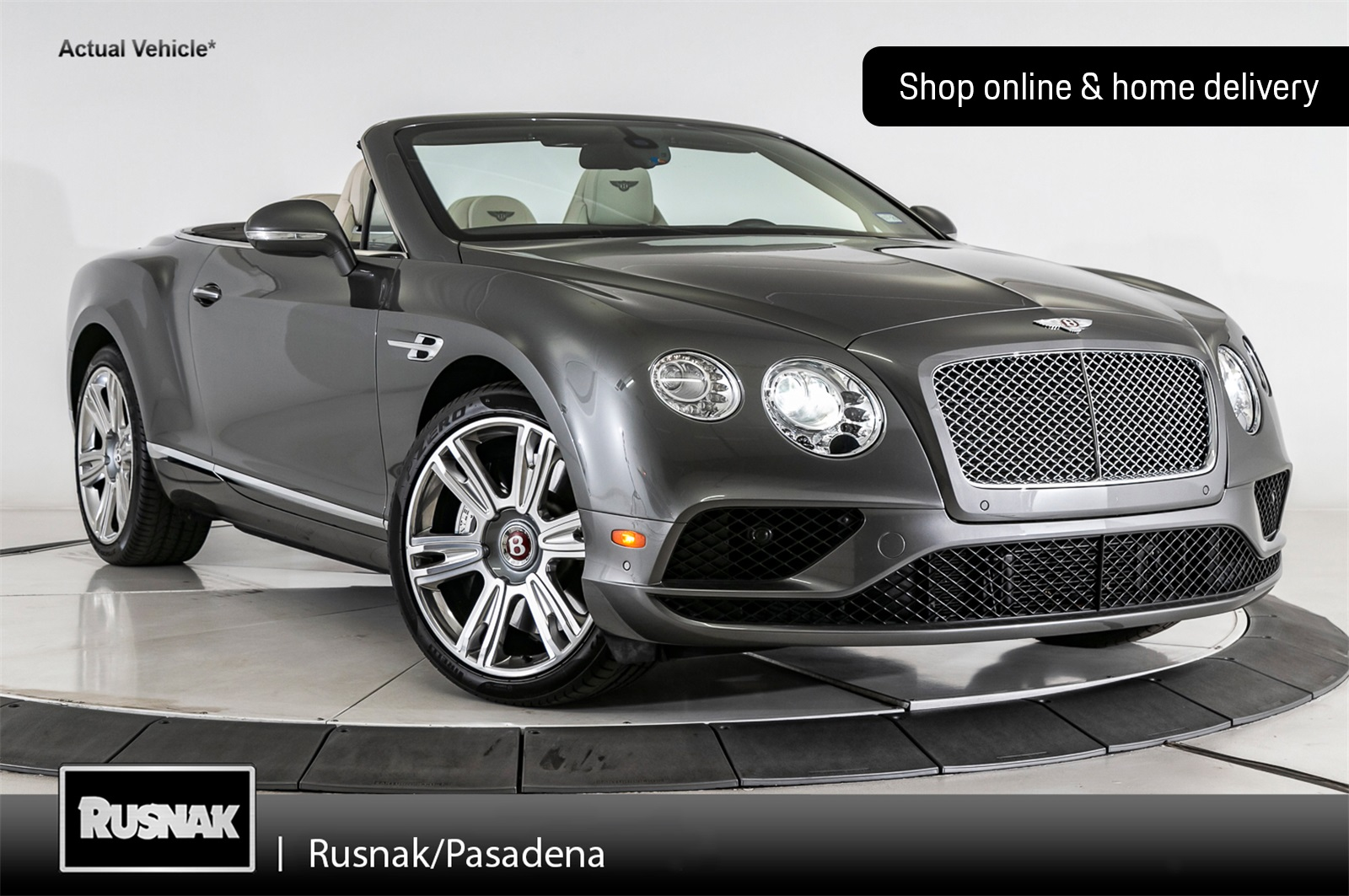 Certified Pre-Owned 2017 Bentley Continental GT V8 Convertible