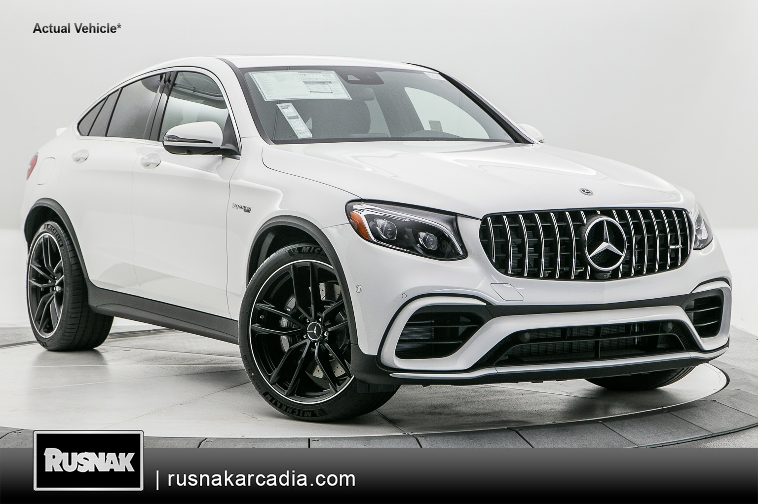 New 2019 Mercedes-Benz AMG GLC 63 Coupe