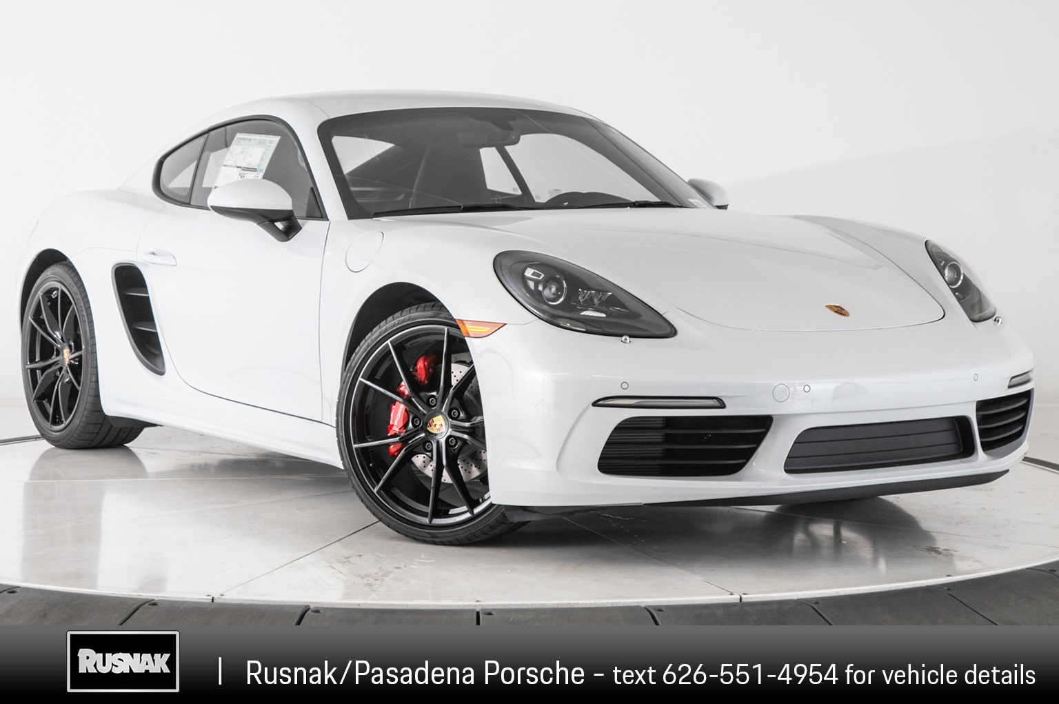 New 2019 Porsche 718 Cayman S RWD 2D Coupe