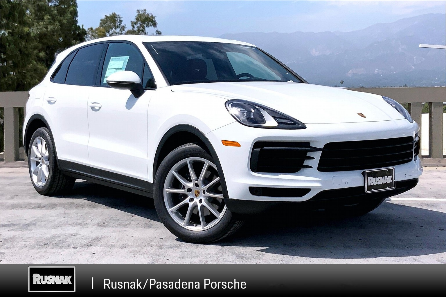 New 2020 Porsche Cayenne Base