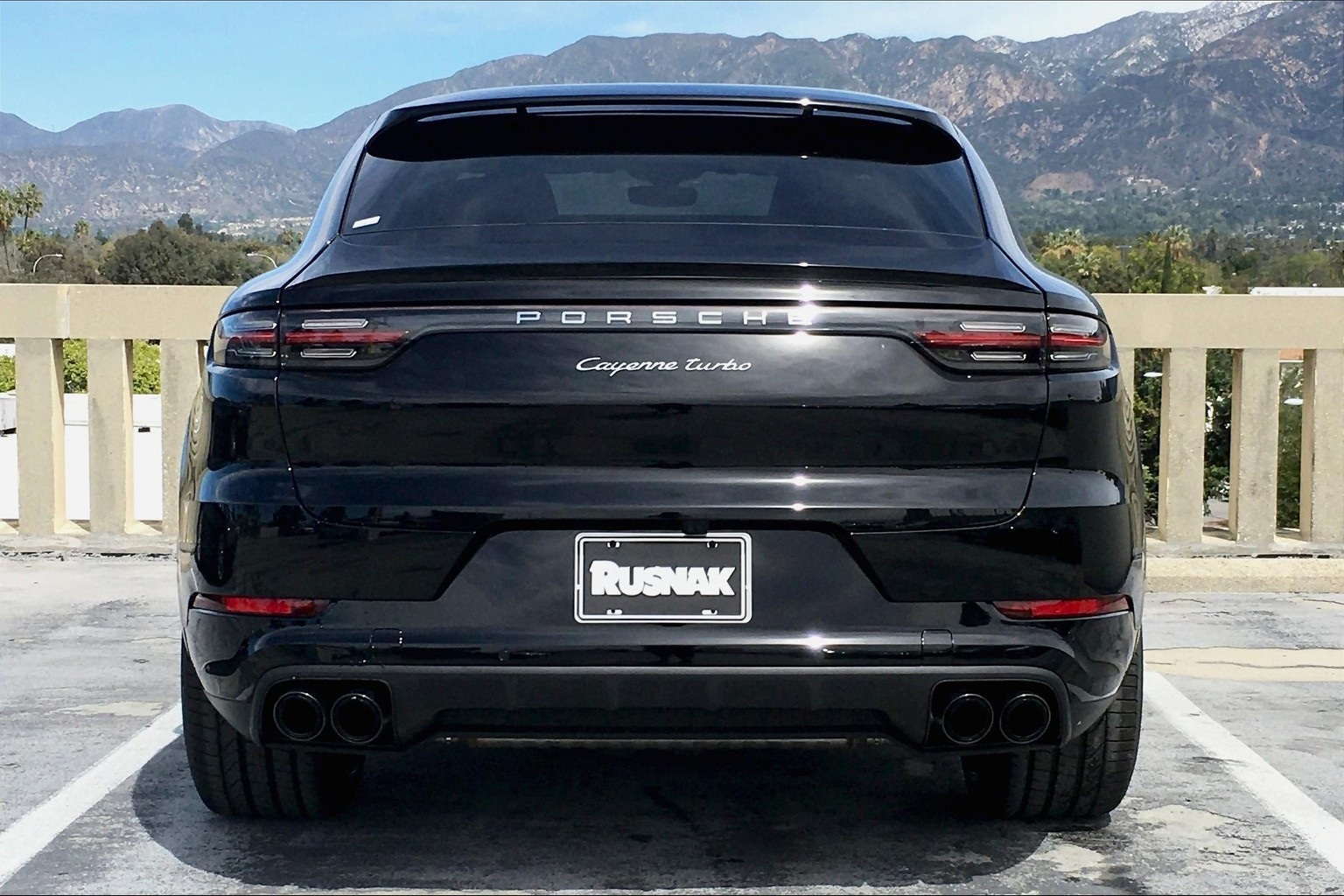 New 2020 Porsche Cayenne Coupe Turbo